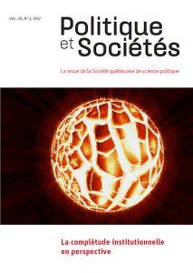 Politiques et Sociétés, vol. 36, n 3, 2017